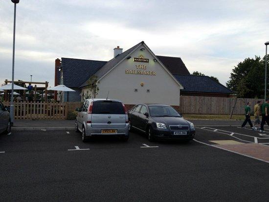 Premier Inn Gosport Hotel : The Sailmaker - das angeschlossene Restaurant