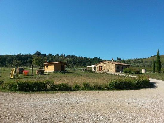 Agriturismo Il Mulinaccio : Panorama Osteria - prato