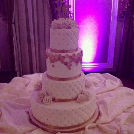 4 tier wedding cake - Picture of Cakes Sweets & Treats, Burlington ...