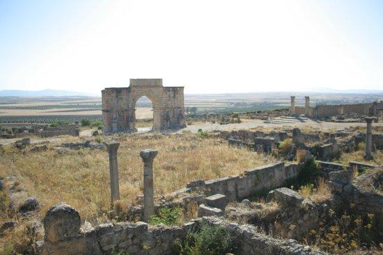 Site archéologique de Volubilis : Volubilis - città romana