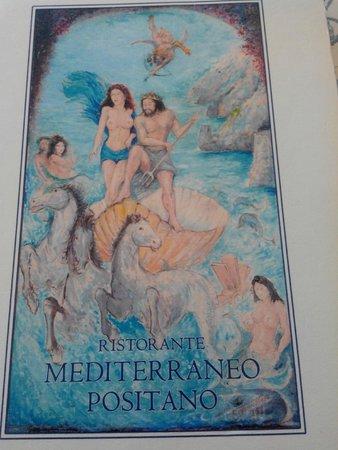 Ristorante Mediterraneo: Menù