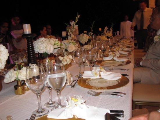 La Cana Golf Course: wedding reception
