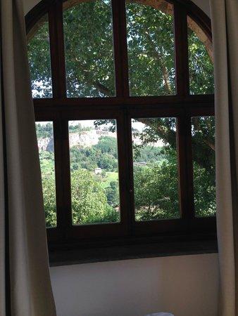 La Badia di Orvieto: View from our room...