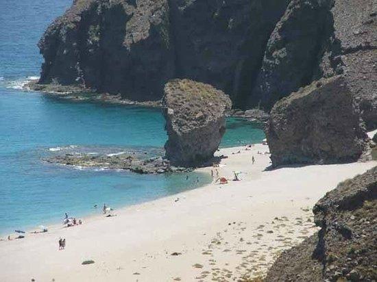 El Parque Natural de Cabo de Gata - Níjar: Preciosas playas