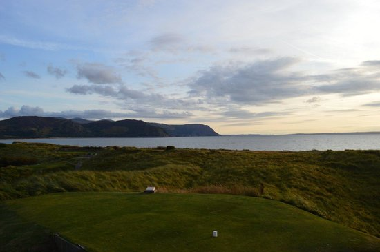 North Wales Golf Club: View from 17th Tee