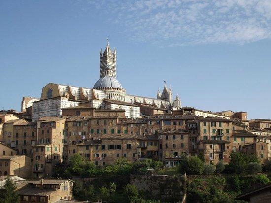 Dom von Siena: il duomo visto da Santa Caterina