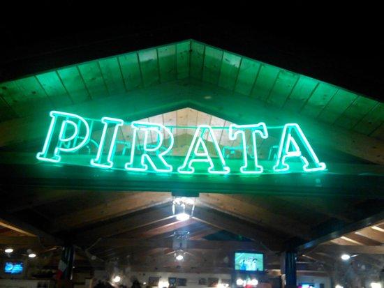 Ristorante Pizzeria Pirata: Insegna