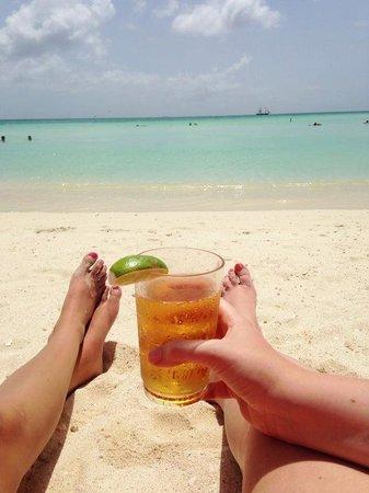 The Ritz-Carlton, Aruba: Balashi on the beach.
