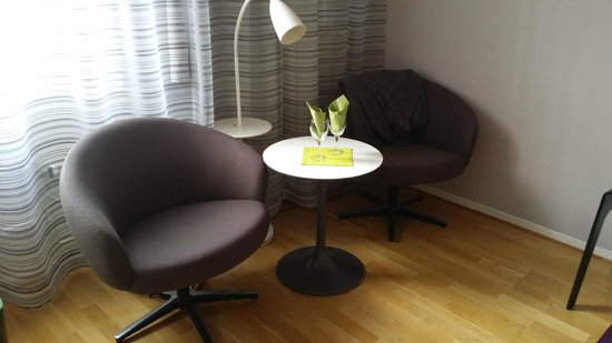 Scandic Hotel Uplandia: Trevliga ytor i rummet