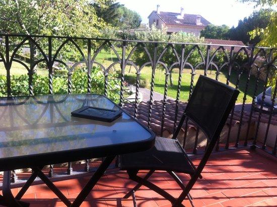 Hospederia Gemma: Una terraza para disfrutar