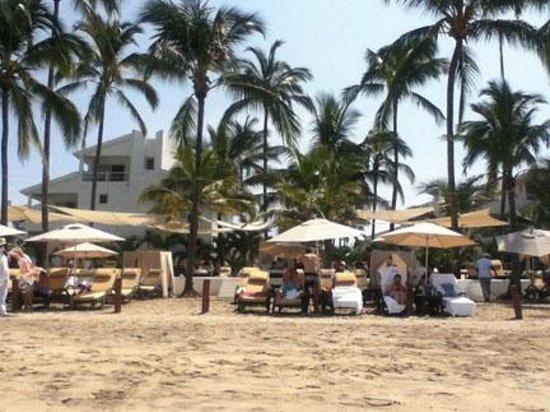 Marival Residences Luxury Resort Nuevo Vallarta: Section privée VIP à la plage au Grand Marival (bouffe et alcool inclus)