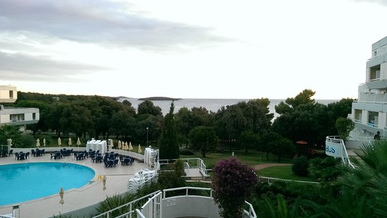 Hotel Delfin: View from the hotel terrase