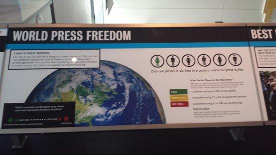 Newseum: World Press Freedom