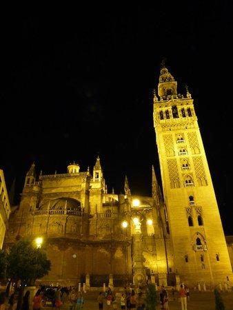 Hotel Dona Maria : vista sulla Giralda