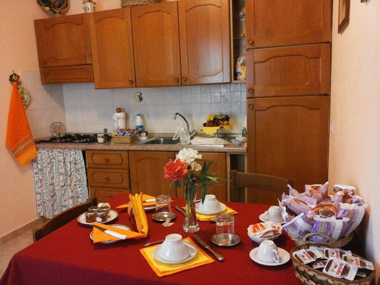 Bed and Breakfast Cenerente: Cucina