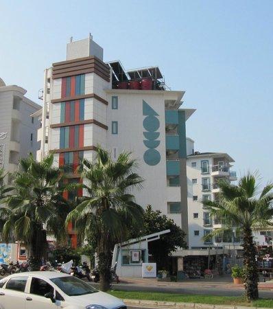 Sunprime Alanya Beach: Hotel Sunprime Alanya