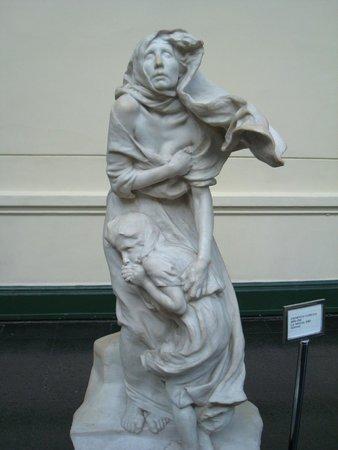 Museo Nacional de Bellas Artes: Escultura exposta