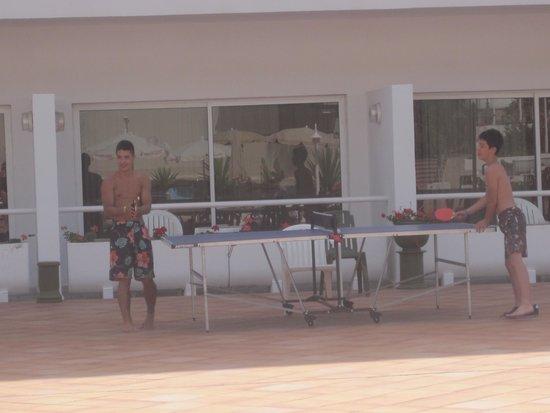 Sol La Palma Hotel by Melia : Table tennis