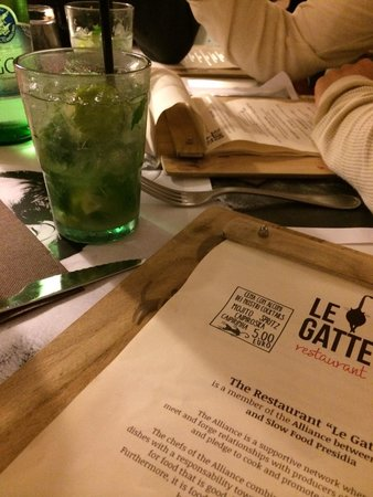 Le Gatte: Loved it here, and the pizza was very very good!