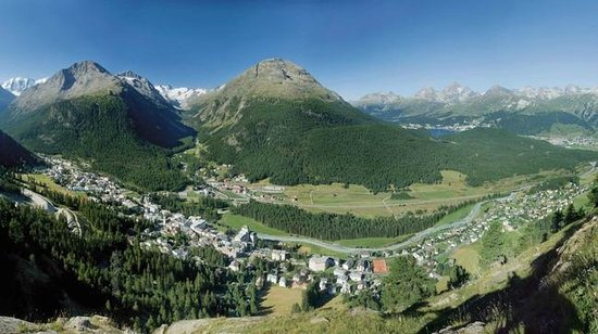 Pontresina, Schweiz: Incredible Swiss beauty.  Photo courtesy of Swiss Tourism