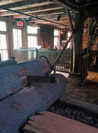 Moulin seigneurial de Pointe-du-Lac : Scierie du moulin