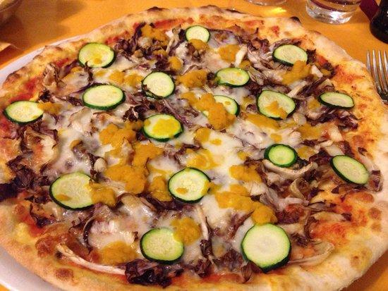 Sagittarius : Pizza Vegetariana