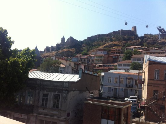 Sharden Villa : Balkon manzarası