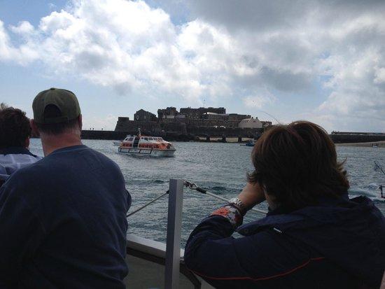 Castle Cornet from the ship's tender