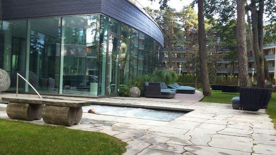 Palanga Spa Luxury: Whirlpool at the Spa area