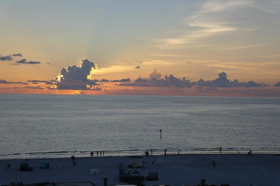 Hilton Clearwater Beach: Tramonto