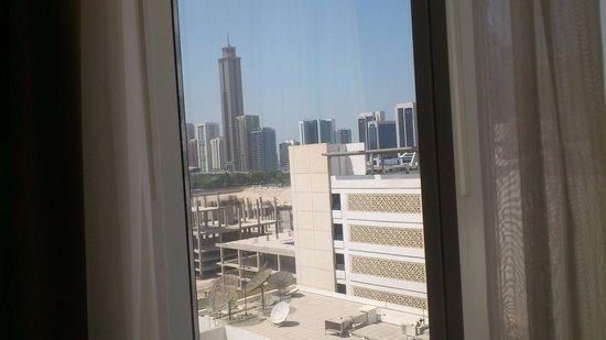 Novotel World Trade Centre Dubai: depuis la fenêtre de la chambre