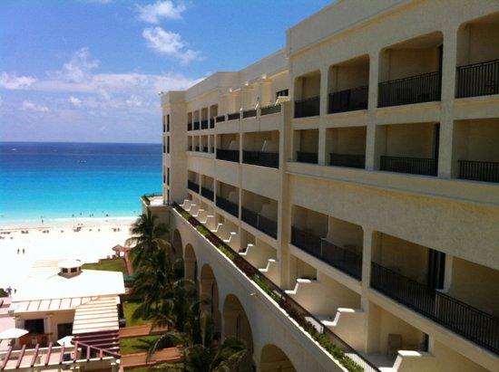 CasaMagna Marriott Cancun Resort: Vista dall'hotel