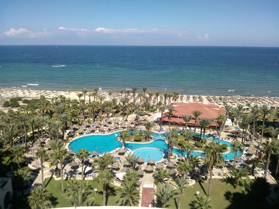 Riadh Palms Hotel: sea view