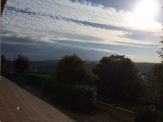 Hotel La Bonbonniere: View from room 12