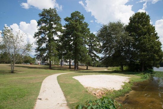 Lake Blackshear Resort and Golf Club : beach on the lake