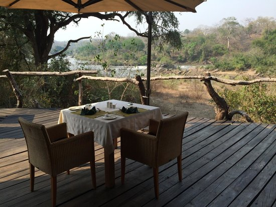 Mkulumadzi Lodge: Lunch time