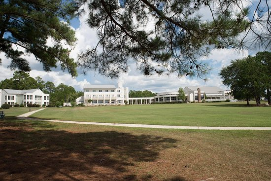 Lake Blackshear Resort and Golf Club : large yard