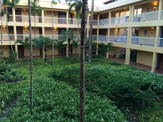 VH Gran Ventana Beach Resort: View from the hall
