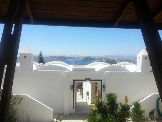 Hotel Manastir: vue de la chambre