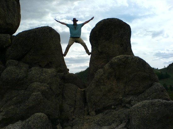Temma Trekking Camp: rock climbing