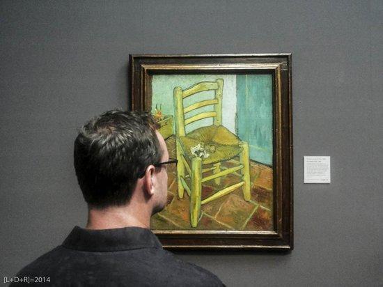 Galería Nacional: Uno spettatore di Van Gogh