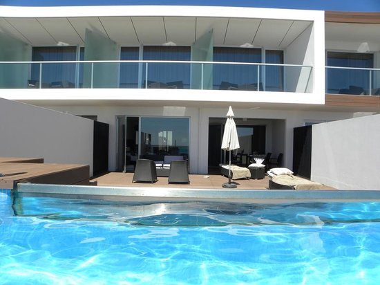 Sensimar Lagos by Yellow: View of superior suite terrace from private pool