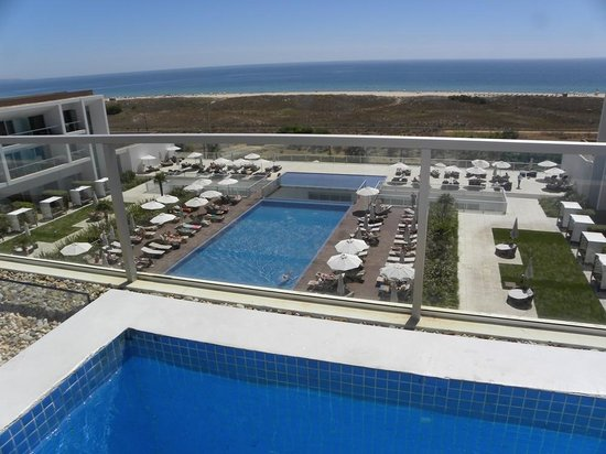Sensimar Lagos by Yellow: View of main pool/terrace area from superior suite pool