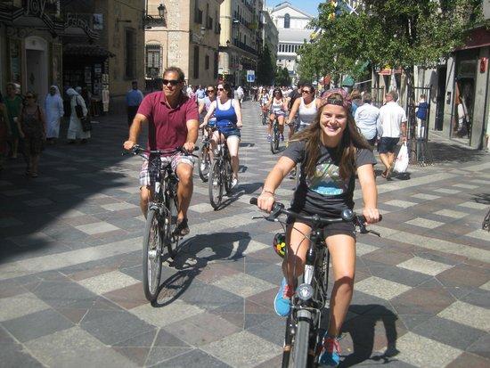 Trixi Madrid - Bike Tours : Sunshine in Madrid, 20 August