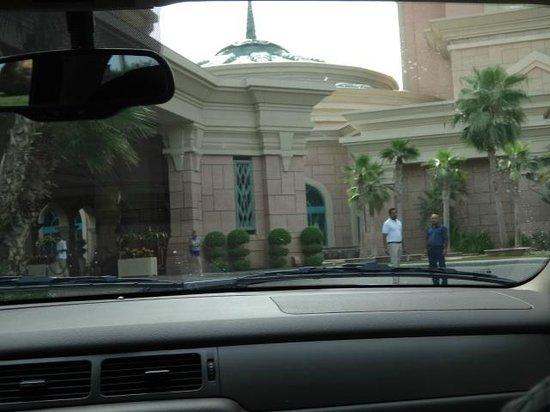 Atlantis, The Palm: Entrance