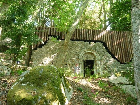 Castle of the Moors : Percorso per arrivare al castello