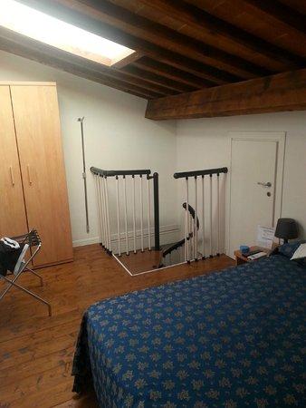 Sette Angeli Rooms: Piso de arriba - dormitorio