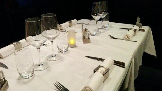 La tete de Boeuf : La table