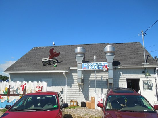 Cape Porpoise Chowder House: Entrance to the Chowder House