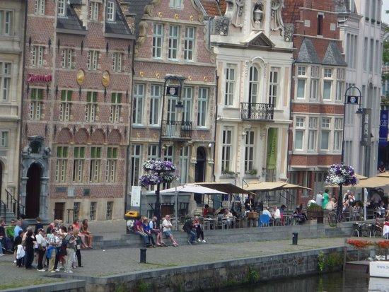 Ghent Marriott Restaurant: Daar is het!
